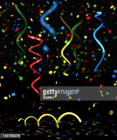 Mehrfarbig Konfetti : Stock-Foto