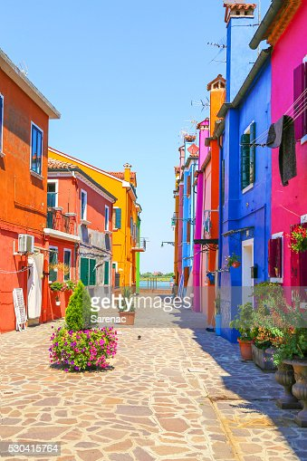 Multicolor houses : Stock Photo