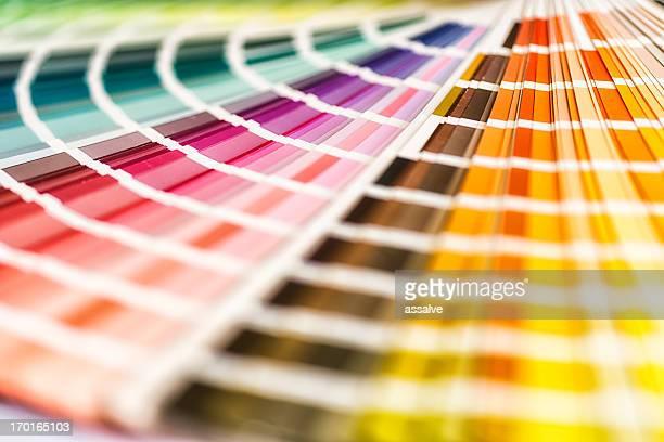 Nuancier multicolore