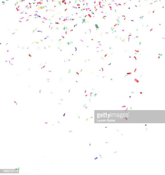 Multicolored confetti