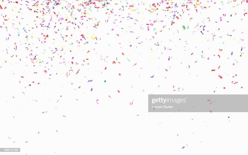 Multicolored confetti