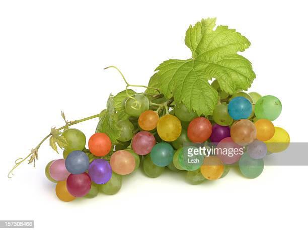 multicolored grape