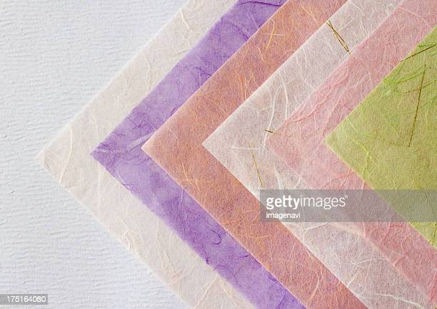 Multicolored Japanese paper