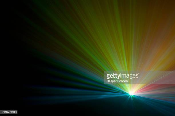 Multicolored laser lights