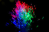 Multicolored line lights