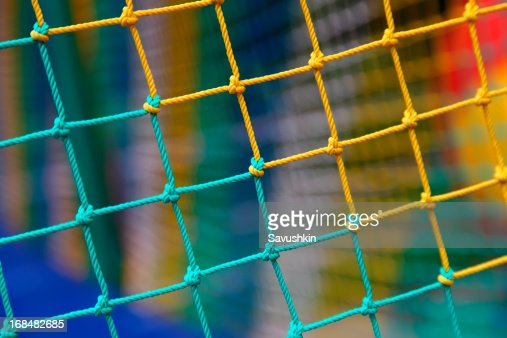 Multi-colored mesh.