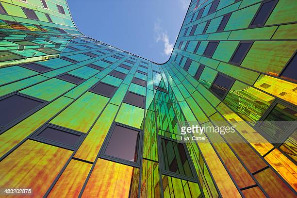 Multicolored office building # 6 XL