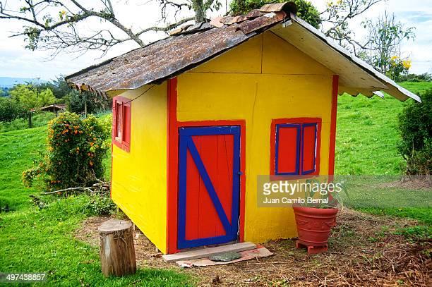 Multicolored playhouse
