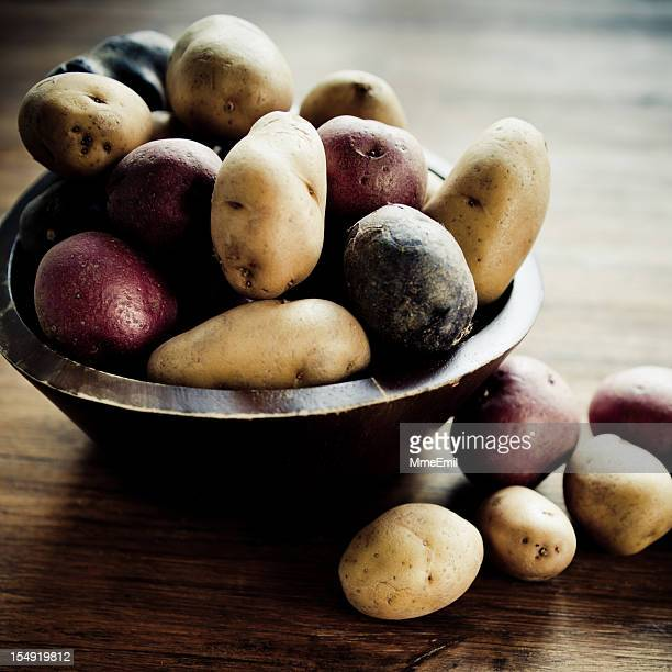 Multicolored Potatoes