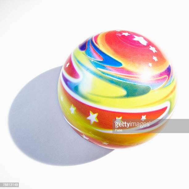 Multicolored Rubber Ball