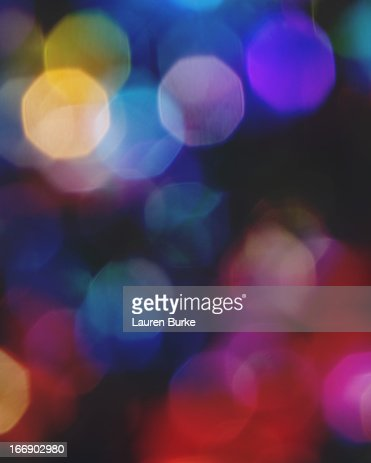 Multicolored sparkling lights : Stockfoto