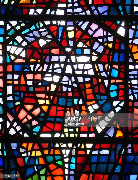 Multicolored Window, Abstract