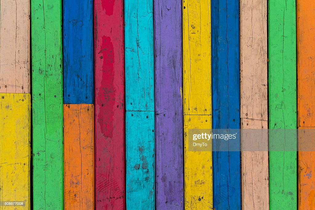 Multi-colored wooden floor boards. Backgrounds and textures : Stockfoto