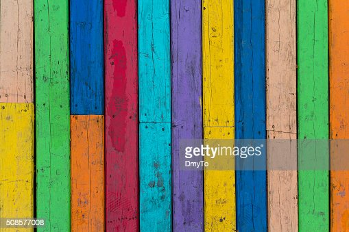 Multi-colored wooden floor boards. Backgrounds and textures : Stock Photo