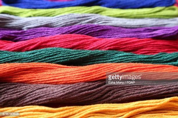 Multi-colored wool