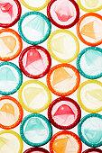 Multicoloured Condoms
