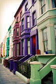 Multi-coloured Notting Hill