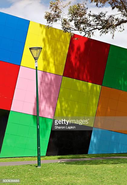 Multicoloured wall