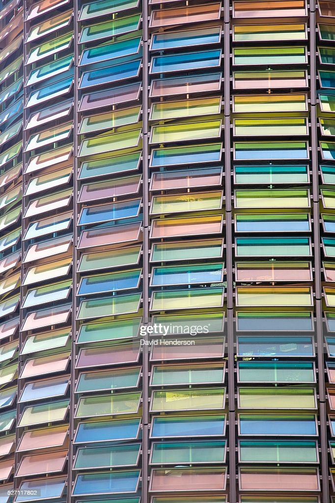 Multicoloured windows : Stock Photo