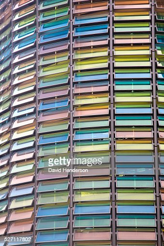Multicoloured windows : Stockfoto