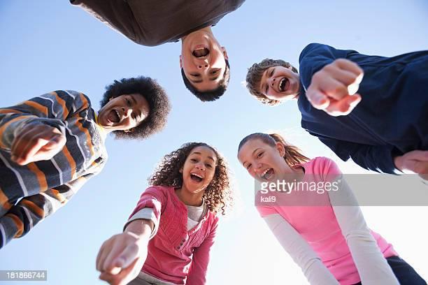 Multi-ethnic children