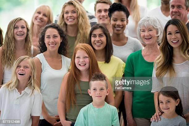 Multi-Ethnic Group of Individuals