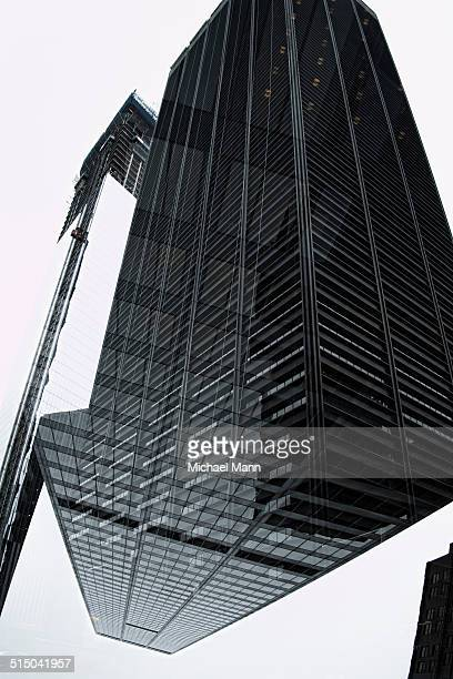 Multi-layered effect of corporate skyscraper