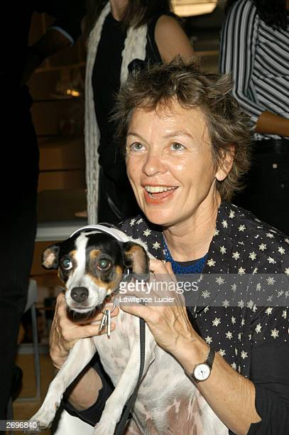 Multimedia artist Laurie Anderson attends Interview Magazine and Adidas' celebration of the publication of Lou Reed's photo book 'Emotion In Action'...