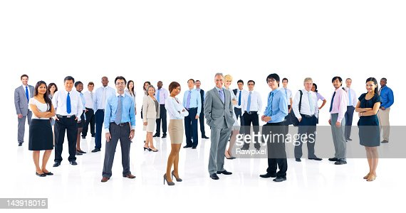 Multinational business team portrait : Stock Photo