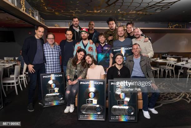 Multiplatinum Grammy Award winning band IMAGINE DRAGONS' latest studio album Evolve has been certified Platinum by the RIAA Brenda Romano President...