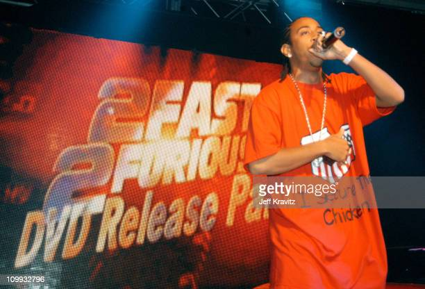 Multiplatinum hiphop artist Ludacris performs at the 2 Fast 2 Furious DVD launch event