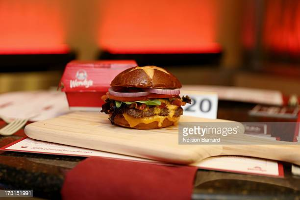 Multiplatinum Recording Artist and Television Personality Nick Lachey serenades Wendy's new Pretzel Bacon Cheeseburger with fans' lovefilled tweets...
