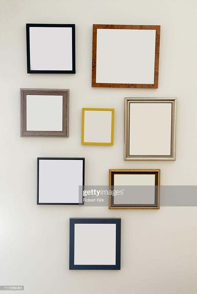Multiple Blank Frames : Stock Photo
