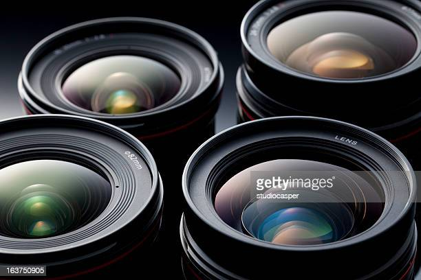 Multiple camera lenses, reflective lenses