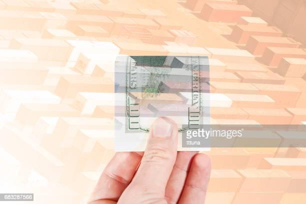 multiple exposure human hand