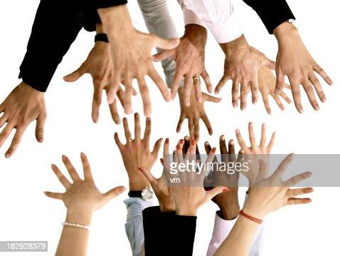 Multiple hands