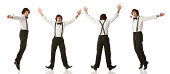 Multiple images of a man dancing against whitehttp://www.twodozendesign.info/i/1.png