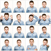 Multiple image facial expressions
