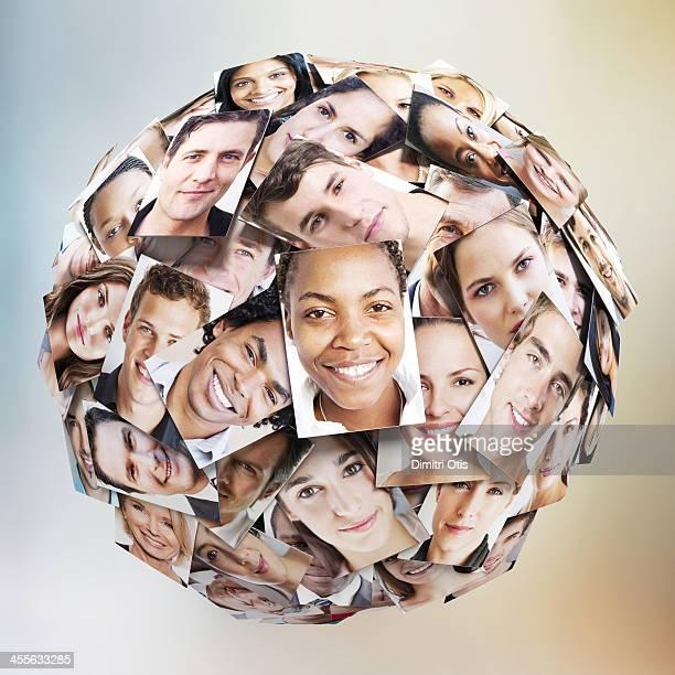 Multiple portrait sphere