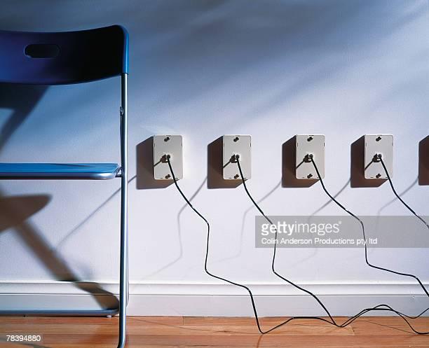 Multiple telephone jacks