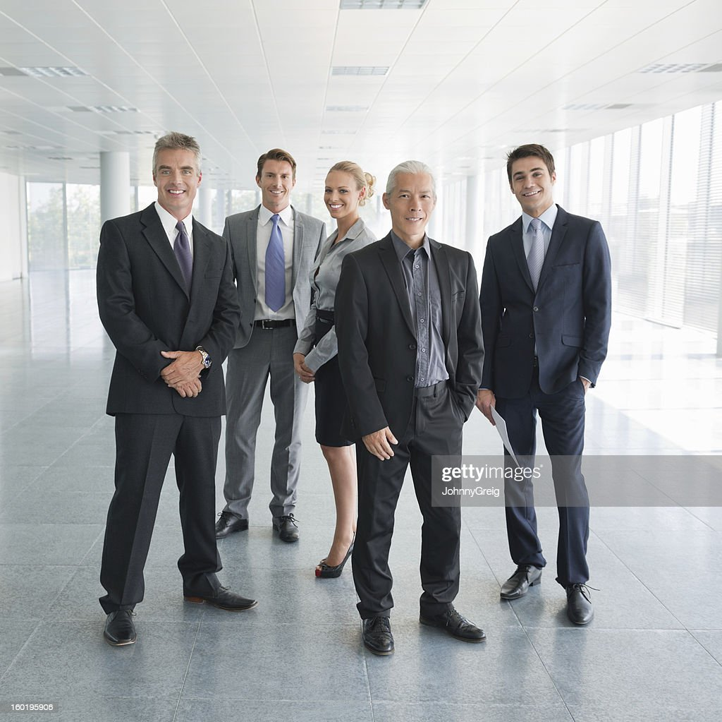 Multiracial Business Team