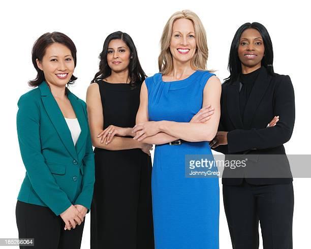 Multiraciales Femme d'affaires souriant