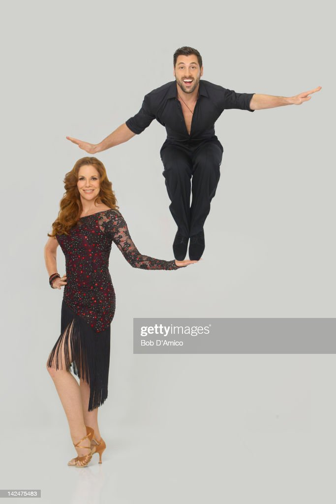 STARS - (EXCLUSIVE TO GETTY IMAGES UNTIL APRIL 19, 2012) MELISSA GILBERT & MAKSIM CHMERKOVSKIY - Multi-talented Melissa Gilbert partners with Maksim Chmerkovskiy, who returns for his 12th season. The two-hour season premiere of 'Dancing with the Stars' airs MONDAY, MARCH 19 (8:00-10:01 p.m., ET) on the ABC Television Network.