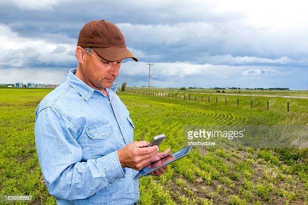 Multitasking Farmer