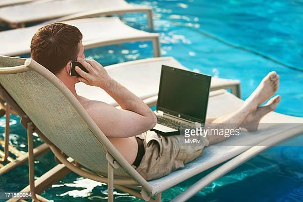 Multitasking on vacation