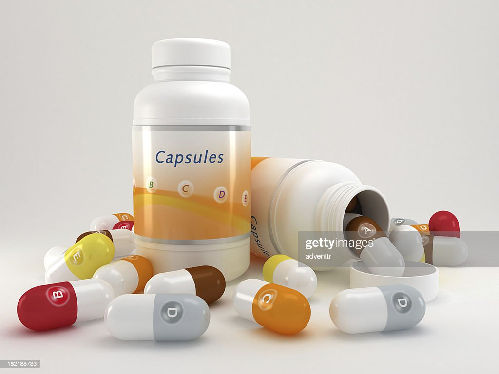 Multivitamin pills