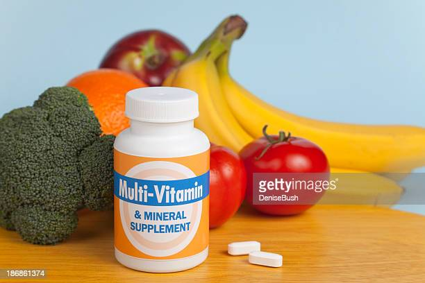 Multi-Vitamins with Fruit and Veggies