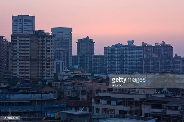 Mumbai India at night