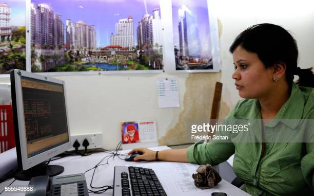 Mumbai Office of Indian Architect Hafeez Contractor on April 14 2010 in Mumbai India