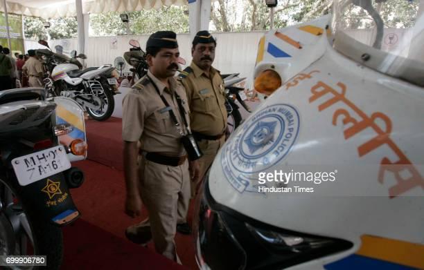 Mumbai Police launch a Green Mumbai Safe Mumbai campaign for Mumbai Police held at Worli Police Camp in Mumbai on Saturday